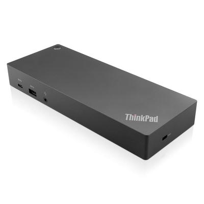 Lenovo USB C, 3 x USB 3.1 A, 2 x USB 2.0, 1 x USB C, 2 x HDMI, 2 x DisplayPort, RJ-45, 3.5 mm, Black, 135 W, UK .....