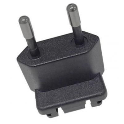 Honeywell stekker-adapter: PS-PLUG-C 5100/6100/6500 EU type C plug (European 2-pin Electrical Adapter Plug ) - Zwart