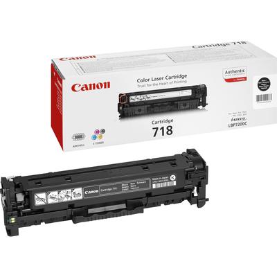 Canon 1 x CRG 718 BK Toner - Zwart