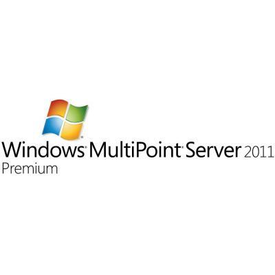 Microsoft Besturingssysteem: Windows MultiPoint Server 2011 Premium, Sngl Lic, SA pk, OLP-NL, EDU