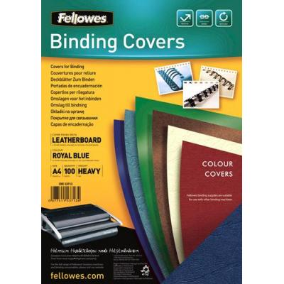 Fellowes binding cover: Delta - Blauw