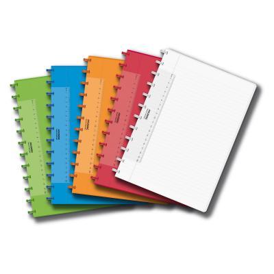 Adoc COLORLINES A4 Schrift 114p Gelijnd (Willekeurige kleur) Schrijfblok - Multi kleuren