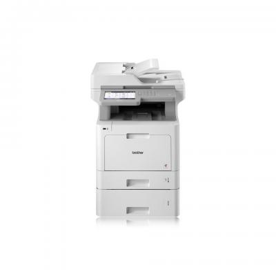 Brother Netwerk Kleurenlaserprinter 31 ppm MFC-L9570CDWT Multifunctional - Wit