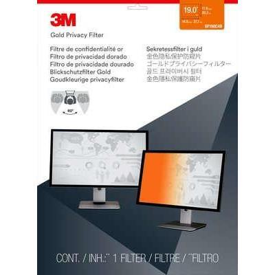 "3M GPF19.0 Gold Privacy Filter for Desktop LCD Monitor 19.0"" GF190C4B Schermfilter - Goud"