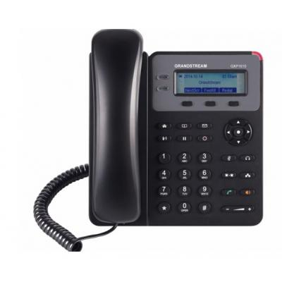 Grandstream Networks GXP1610 IP Phone, VoIP, QoS, 132x48 LCD, RJ45, 10/100 Mbps, 1 SIP Dect .....