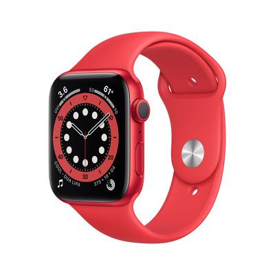 Apple Watch Series 6 44mm 32GB aluminium Red Red Smartwatch