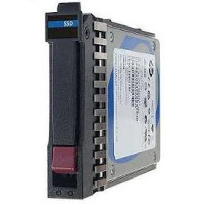 """Hewlett Packard Enterprise SSD: 800GB, 2.12.7 cm (5"""") , 12G SAS, SFF, MU - Aluminium, Zwart"""