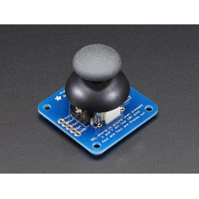 Adafruit : analog 2-axis thumb joystick with select button + breakout board