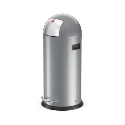 Hailo KickMaxx XL vuilnisbak - Zilver