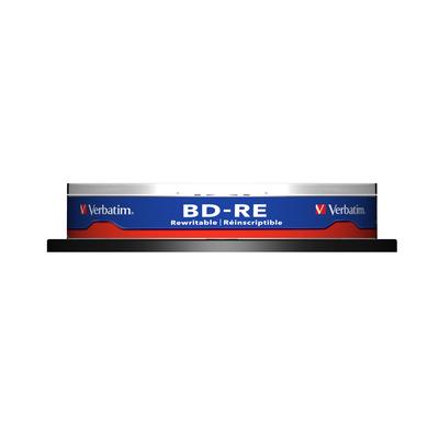 Verbatim BD: BD-RE SL 25GB 2x 10 Pack Spindle