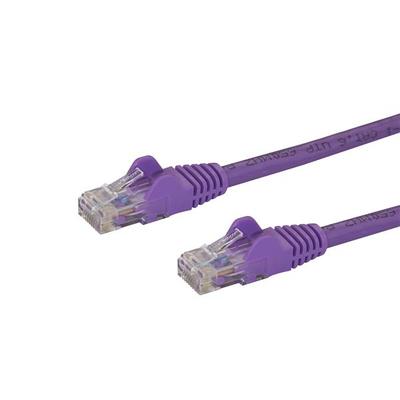 StarTech.com Cat6 met snagless RJ45 connectoren UTP patchkabel paars 10m Netwerkkabel