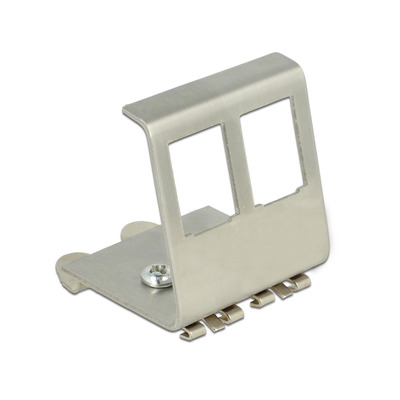 DeLOCK 86255 Patch panel accessoire - Metallic