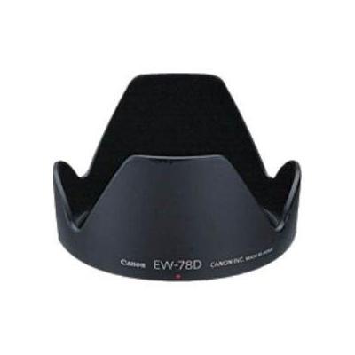 Canon lens adapter: EW-78D Lens Hood - Zwart