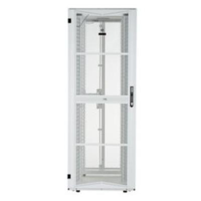 Panduit Steel, White, 800 x 1200 x 2133 mm, 45U Rack - Wit