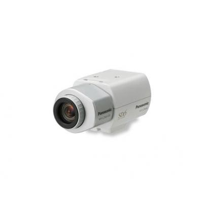 """Panasonic 1/3"""" CCD, SNR 52dB, AWC, ATW, compact day/night fixed camera Beveiligingscamera - Wit"""