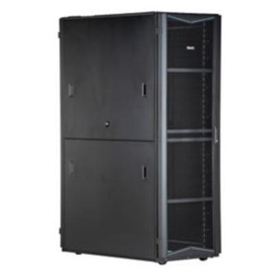 Panduit Steel, Black, 600 x 1200 x 2133 mm, 45U Rack - Zwart