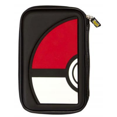 Bigben interactive portable game console case: Nintendo 3DS hoesje met Pokébal - Zwart, Rood, Wit