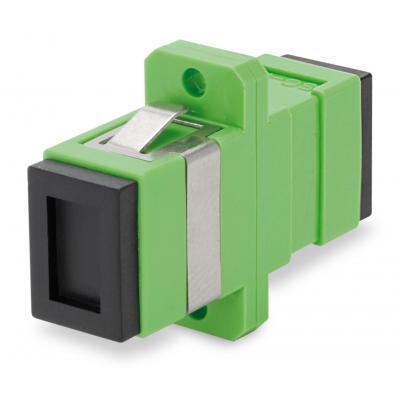 Spaun SOK SC/APC Fiber optic adapter - Groen