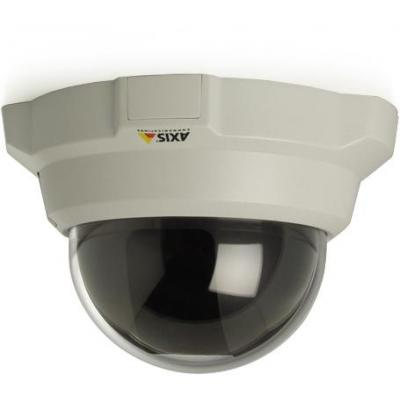 Axis muur & plafond bevestigings accessoire: White casing with smoked dome for 216FD - Grijs, Transparant