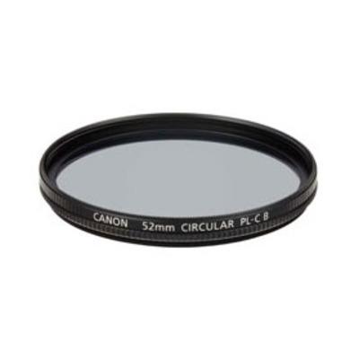 Canon Filter 52 PL-C B Camera filter - Zwart