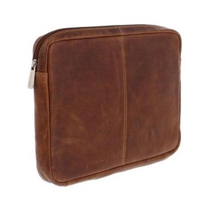 "Plevier Polanco Laptop Sleeve 30.48 cm (12"") Cognac Laptoptas - Bruin"