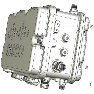 Cisco Power Tap Power supply unit - Zilver