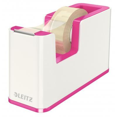 Leitz tape afroller: WOW - Metallic, Roze