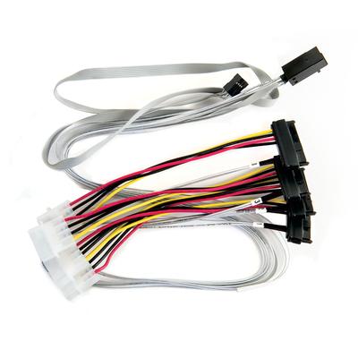 Microsemi ADAPTEC I-RA-HDMSAS-4SAS-SB-.8M Kabel - Multi kleuren