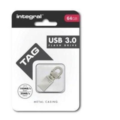 Integral INFD64GBTAG3.0 USB flash drive