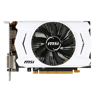 MSI V809-1699R Videokaart - Zwart, Wit