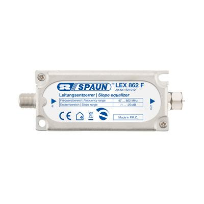 Spaun LEX 862 F Kabel splitter of combiner - Zilver