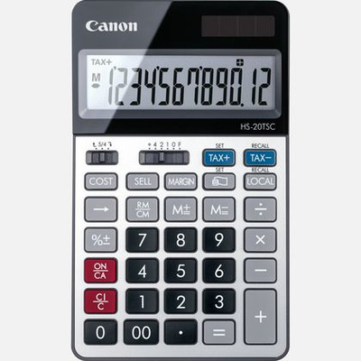 Canon HS-20TSC Calculator
