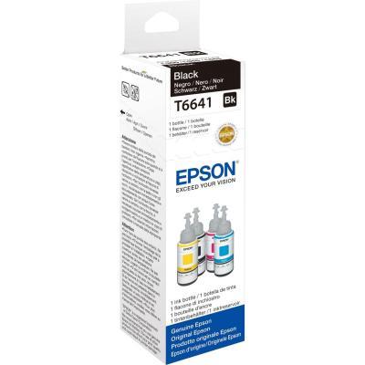 Epson inkt: T6641 - Zwart