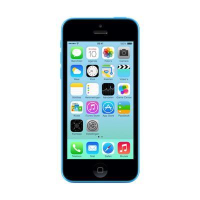 Apple smartphone: 5c 16GB Blauw Refurbished - Blue