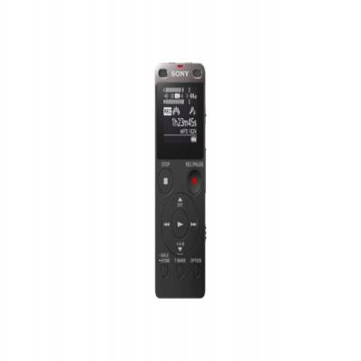 Sony voice recorder: ICD-UX560 - Zwart