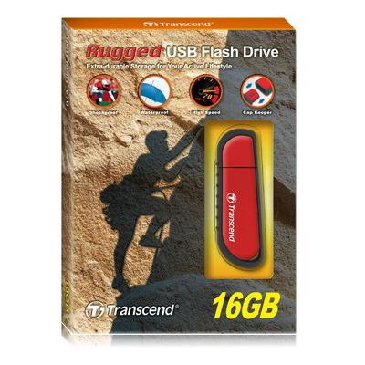 Transcend USB flash drive: V series JetFlash V70, 16GB - Rood