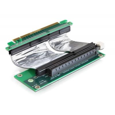 Delock slot expander: Riser card PCI Express x16 with flexible cable right insertion