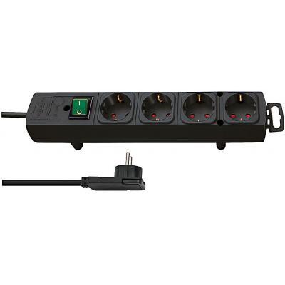Brennenstuhl power extrention: 1153100100 - Zwart