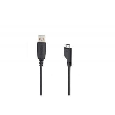 Samsung USB kabel: USB/microUSB - Zwart
