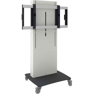 SmartMetals VESA, 600 x 400 mm, 1040 - 1700mm, 38 mm/s, 100 kg, 100 kg, Wit, Zwart Monitorarm - Zwart,Wit