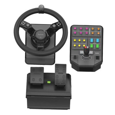Logitech game controller: G Heavy Equipment Bundle Farm Sim Controller - Zwart