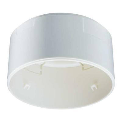Philips muur & plafond bevestigings accessoire: LRH1070/00 SENSR SURFACE BOX - Wit