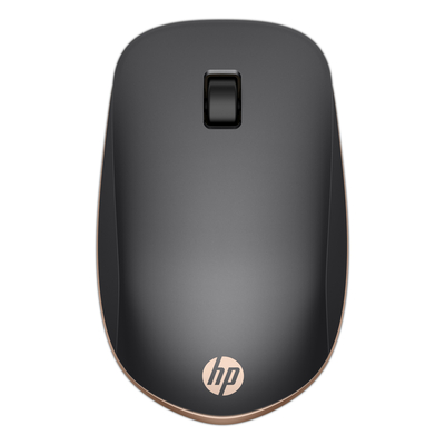 HP Z5000 Silver Wireless Mouse Computermuis - Zwart, Koper, Zilver