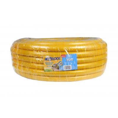 Hozelock tuinslang: Tricoflex Ultraflex slang Ø 25 mm 50 meter - Grijs, Geel