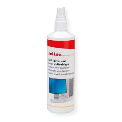 ROLINE beeldscherm en kunstofreiniger Reinigingskit - Rood,Wit