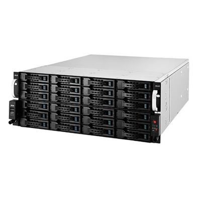ASUS RS740-E7-RS24-EG + PIKE 2208 Server barebone - Zwart, Metallic