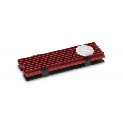 EK Water Blocks M.2 NVMe Heatsink - Red Hardware koeling - Rood