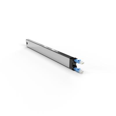 PATCHBOX ® 365 Cat.6a Cassette (UTP, Blue, 0.8m / 8RU) Netwerkkabel - Blauw