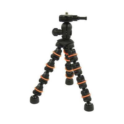 CamLink 180 mm, Metal, Plastic and Rubber Tripod - Zwart, Oranje