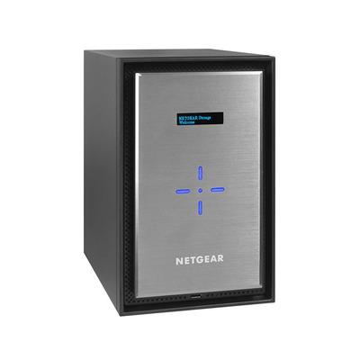 Netgear Ready528X NAS - Zwart, Zilver